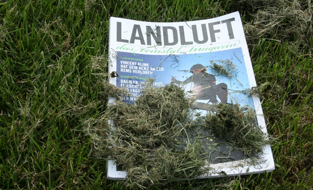 Voll auf die Presse: Landluft