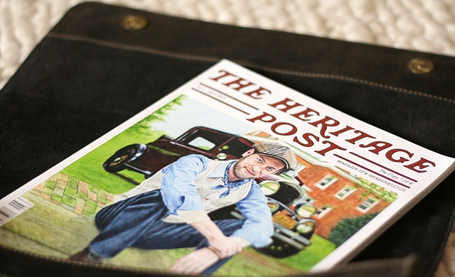 Voll auf die Presse: The Heritage Post